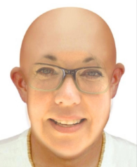 A composite photo of me ... I was attempting to prepare myself for what I might look like without hair.