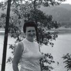 mom at lake